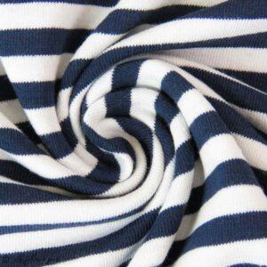Jersey coton rayé Les filles à pois
