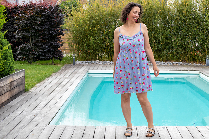 Couture : ma robe Ségur de cozy little world