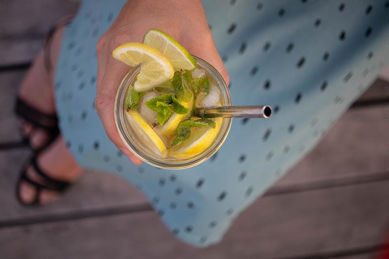 Recette cocktail sans alcool - Avril sur un fil