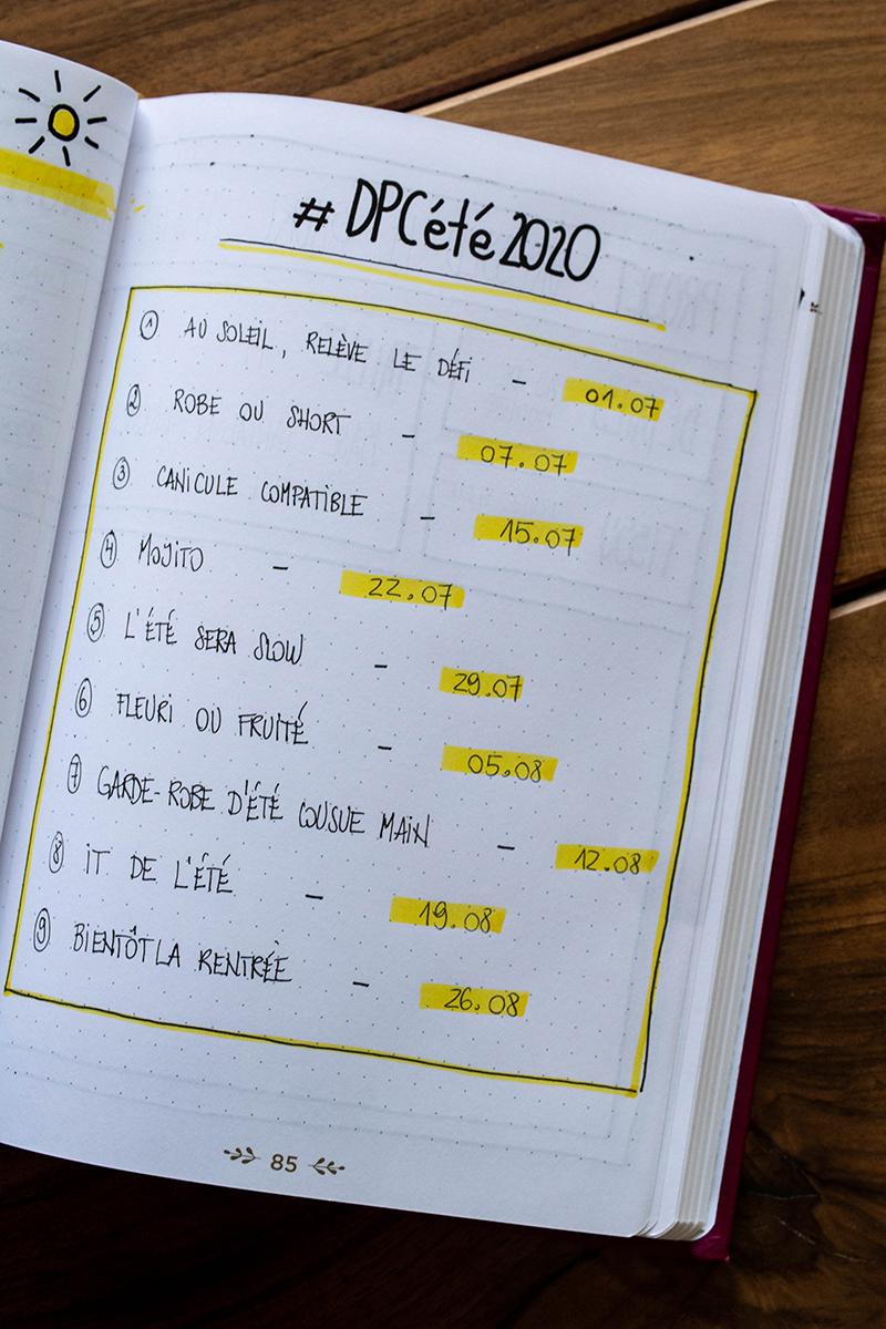 Astuces creatives pour ton bullet journal - Avril sur un fil