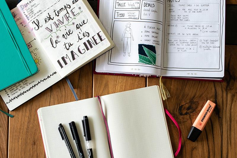 Astuces créatives pour ton Bullet Journal - Avril sur un fil