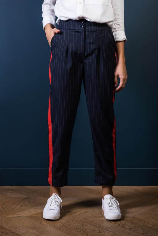 Mes projets couture d'automne : le pantalon Bruges d'orageuse pattern