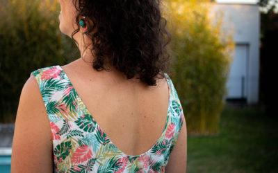 Couture : Ma robe d'été Myosotis x Lucie
