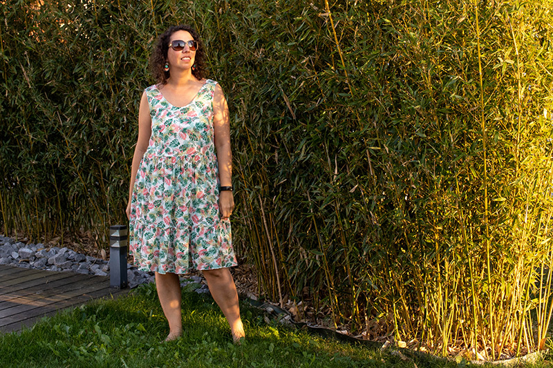Ma robe myosotis x lucie - Avril sur un fil