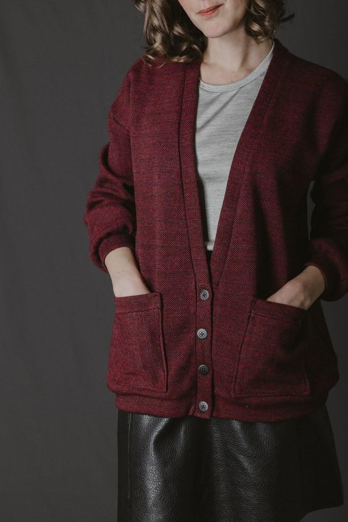 Mes projets couture d'automne : le cardigan Jamie de Ready to sew
