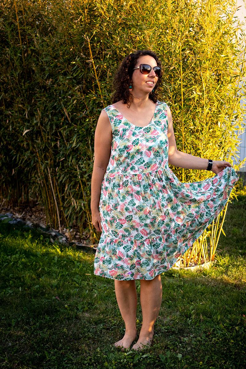 Couture : ma robe d'été cousue main - Avril sur un fil