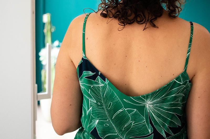 Couture : le dos de mon top Ségur - Avril sur un fil