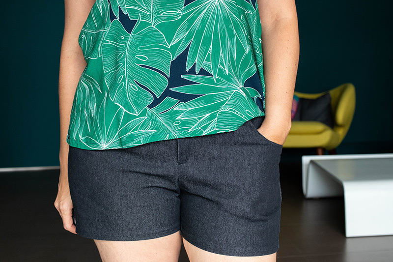 Couture : dressed le short et top ségur - Avril sur un fil