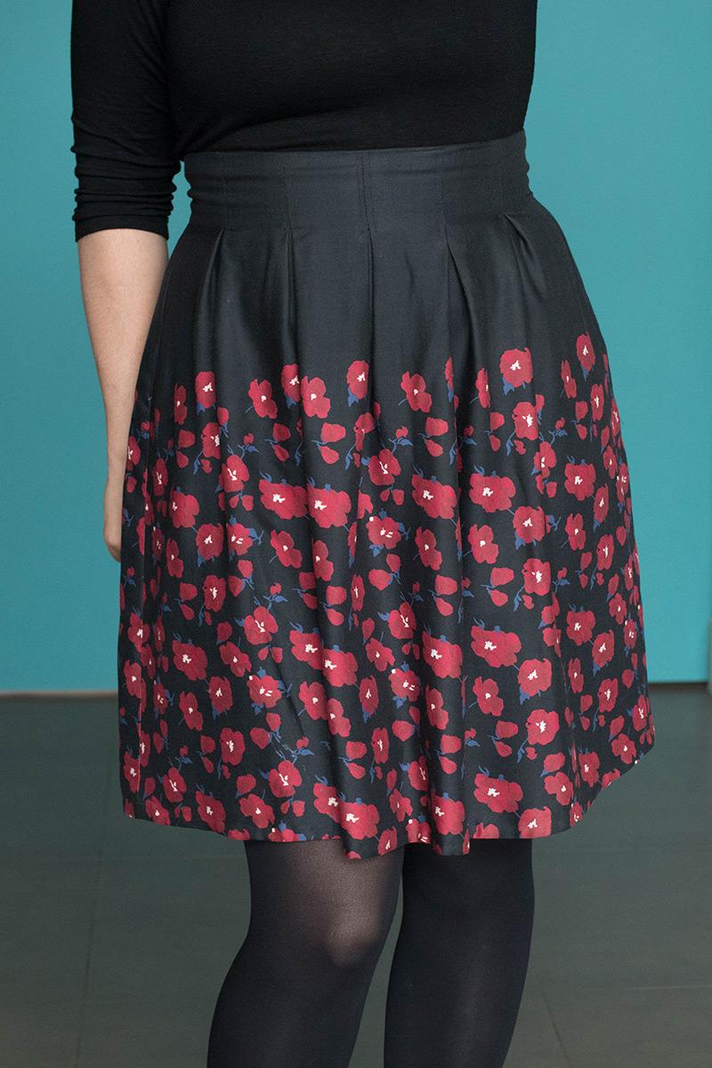 Les plis creux de ma jupe - Avril sur un fil