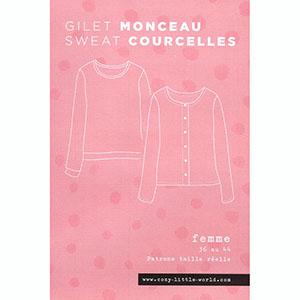 Gilet Monceau et sxeat Courcelles de Cozy Little World