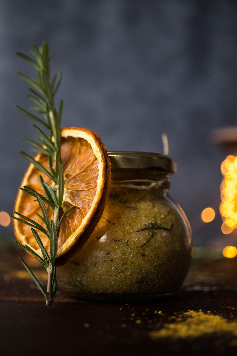 Idée cadeau : des sels de bains parfumés - Avril sur un fil