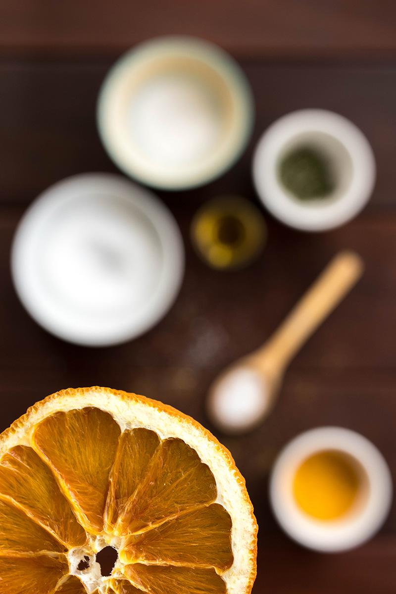 orange sèchée - Avril sur un fil