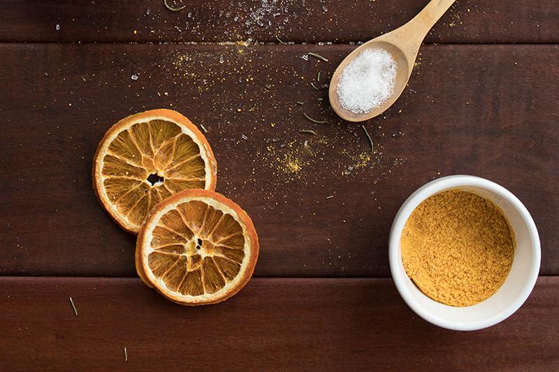 Poudre d'orange fait maison - Avril sur un fil