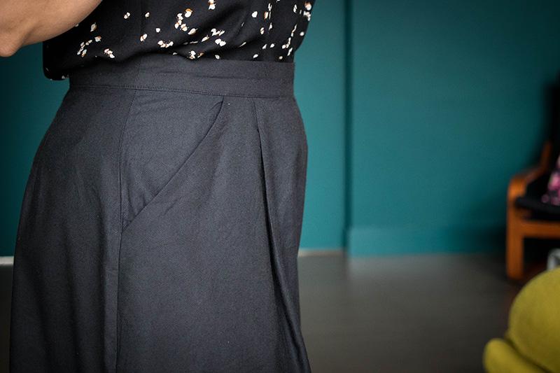 Couture : Détail des poches italiennes - Avril sur un fil