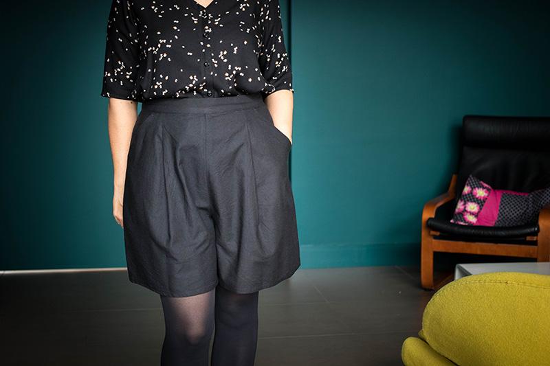 Couture : Dressed la jupe culotte courte par Avril sur un fil