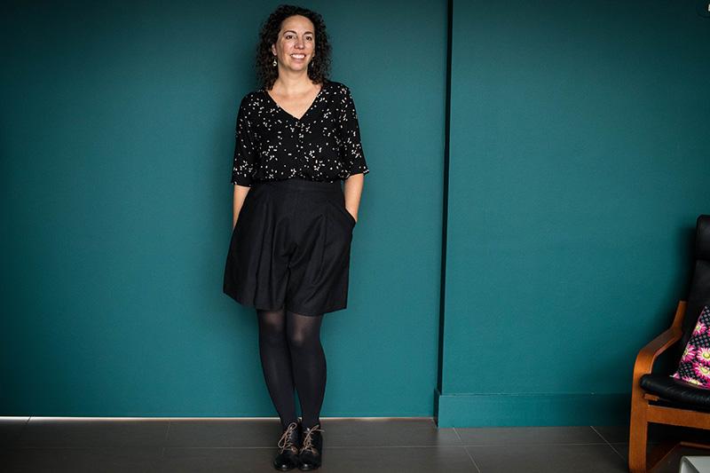 Couture : dressed la jupe culotte - Avril sur un fil